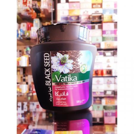 Маска для волос Vatika с черным тмином / Ватика Naturals Hair Mask, 500гр