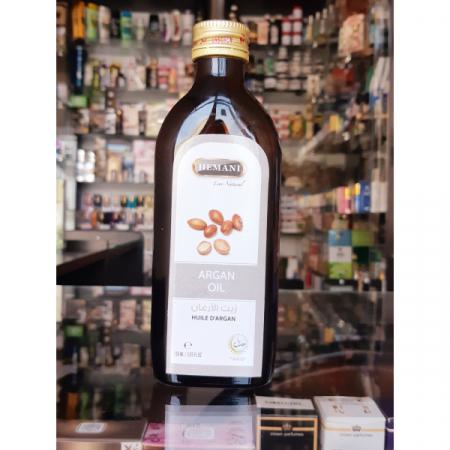 Аргановое масло 150мл, первый холодный  отжим, стекло, Hemani / Хемани