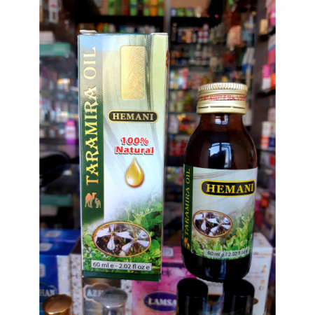 Масло Taramira oil / Тарамира ойл / Масло усьмы Hemani , 60мл